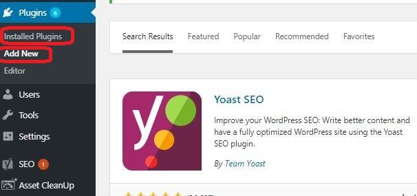 Verify websites using Yoast Plugin